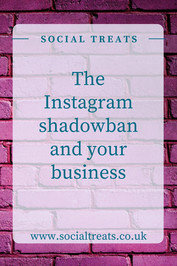 Shadowban and your business